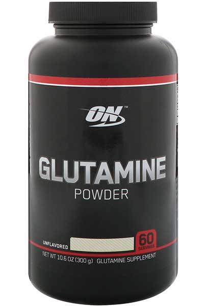 אבקת ל-גלוטמין 300 גרם - אופטימום נוטרישן